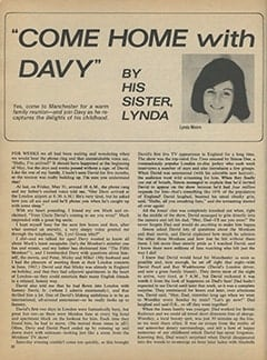 <cite>16</cite> (October 1968), Come Home with Davy, Page 52