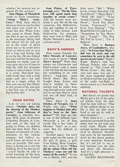 <cite>Monkees Monthly</cite> (January 1969), Your Questions Answered, Page 24