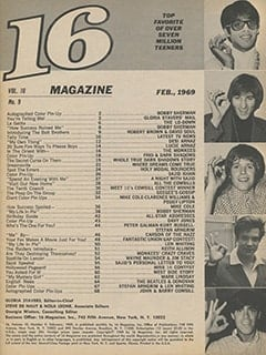 <cite>16</cite> (February 1969) table of contents