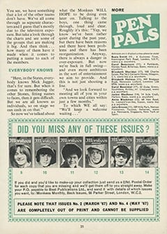 <cite>Monkees Monthly</cite> (April 1969), What Would They Do? If They Had Complete Freedom to Choose, Page 25