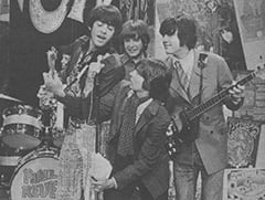 Mark Lindsay, Freddy Weller, Davy Jones, Keith Allison