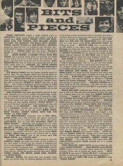 <cite>Tiger Beat</cite> (January 1970), Bits and Pieces, Page 63