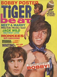 <cite>Tiger Beat</cite> (January 1970) cover