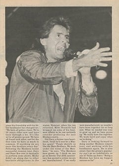 <cite>Monkee Spectacular</cite> (1987), Davy Jones: &ldquo;Being a Monkee Has Been My Greatest Success so Far&rdquo;, Page 57