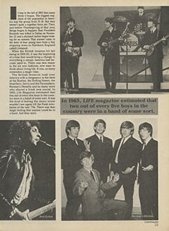 <cite>Tiger Beat Super Special</cite> (1987), Rock 'n' Roll, '60s Style, Page 25