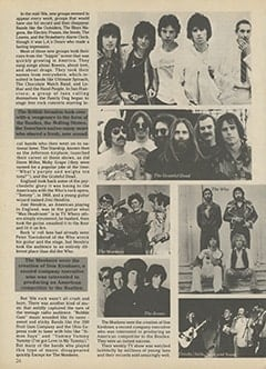 <cite>Tiger Beat Super Special</cite> (1987), Rock 'n' Roll, '60s Style, Page 26