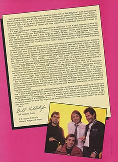 <cite>Creem Presents</cite> (April 1987), Introduction, Page 02
