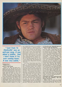 <cite>Creem Presents</cite> (April 1987), The Monkees '87: Yesterday, Today & Tomorrow—Micky Dolenz, Page 37