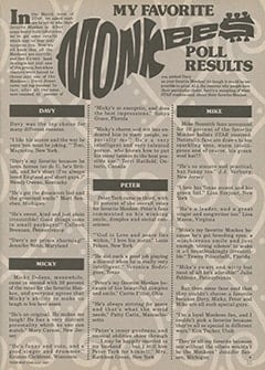 <cite>Star</cite> (July 1987), My Favorite Monkee Poll Results, Page 55