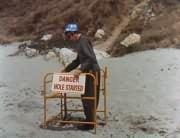 Danger: Hole Started