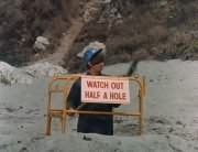 Watch Out: Half a Hole