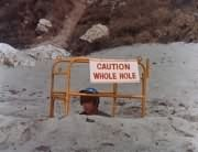 Caution: Whole Hole