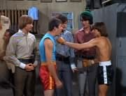 Peter Tork, Smasher (Robert Lyons), Micky Dolenz, Mike Nesmith, Davy Jones