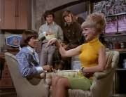 Prince Ludlow (Davy Jones), Micky Dolenz, Peter Tork, Gloria (Linda Kirk)