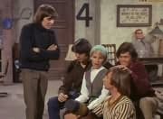 Davy Jones, Mike Nesmith, Toby Willis (Valerie Kairys), Peter Tork, Micky Dolenz, Mr. Schneider