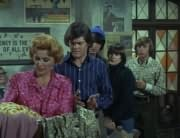 Millie Rudnick (Rose Marie), Micky Dolenz, Mike Nesmith, Davy Jones, Peter Tork