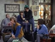 Mr. Schneider, Peter Tork, Davy Jones, Mike Nesmith, Micky Dolenz