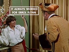 Davy Jones, Otto (Theo Marcuse) - It always worked for Errol Flynn