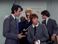 Mike Nesmith, Chambermaid's Assistant (?), Chambermaid (Ceil Cabot), Micky Dolenz