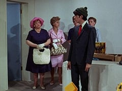 Mrs. Zuckerman (Dorothy Konrad), Mike Nesmith