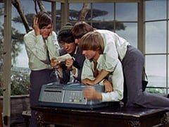 Micky Dolenz, Mike Nesmith, Davy Jones, Peter Tork, DJ-69 (?)
