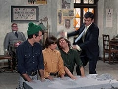 Mr. Schneider, Mike Nesmith, Davy Jones, Micky Dolenz, Nick Trump (Andre Phillippe)