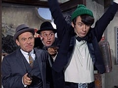 Horace (Louis Quinn), George (Vic Tayback), Mike Nesmith