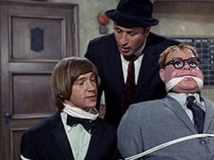 Peter Tork, George (Vic Tayback), Mr. Schneider