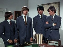 Davy Jones, Peter Tork, Mike Nesmith, Micky Dolenz