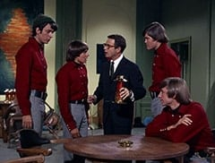 Mike Nesmith, Davy Jones, Honeywell (Don Penny), Micky Dolenz, Peter Tork