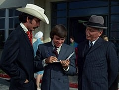 Mike Nesmith, Davy Jones, Grandfather (Ben Wright)