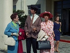 Airport Woman (?), Mike Nesmith, Old Woman (Ceil Cabot)