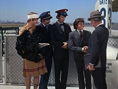 Peter Tork, Micky Dolenz, Mike Nesmith, Davy Jones, Grandfather (Ben Wright)