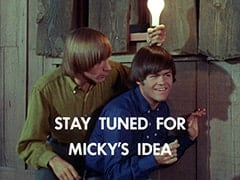 Peter Tork, Micky Dolenz - Stay tuned for Micky's idea