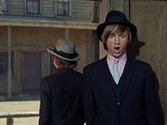 The Big Man (Micky Dolenz), Spider (Peter Tork)