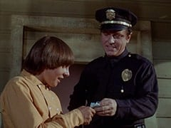 Davy Jones, 1st Cop (Hollis Morrison)