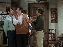 Mike Nesmith, Mr. Babbit (Henry Corden), Micky Dolenz