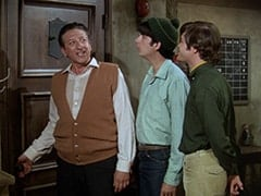 Mr. Babbit (Henry Corden), Mike Nesmith, Micky Dolenz