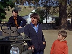 Mike Nesmith, Davy Jones, Jonathan (Kerry MacLane)