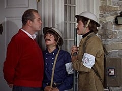 General Harley Vandenberg (Arch Johnson), Davy Jones, Micky Dolenz