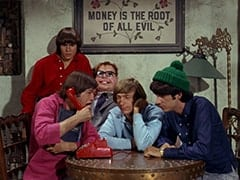 Davy Jones, Micky Dolenz, Mr. Schneider, Peter Tork, Mike Nesmith
