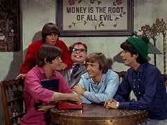 Micky Dolenz, Davy Jones, Mr. Schneider, Peter Tork, Mike Nesmith