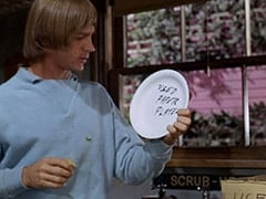 Peter Tork - Used paper plates
