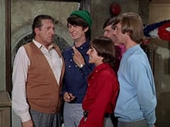 Mr. Babbit (Henry Corden), Mike Nesmith, Davy Jones, Micky Dolenz, Peter Tork