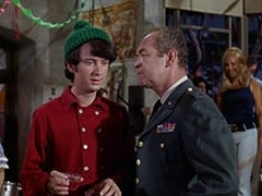 Mike Nesmith, General Harley Vandenberg (Arch Johnson), Light Blonde Extra