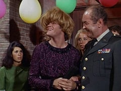 Mrs. Arcadian (Micky Dolenz), Light Blonde Extra, General Harley Vandenberg (Arch Johnson)