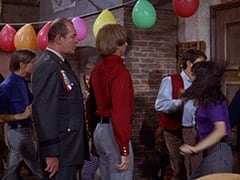 David Price, General Harley Vandenberg (Arch Johnson), Peter Tork, Dark Brunette Extra