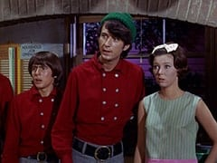 Davy Jones, Mike Nesmith, Cynthia (Judy Murdock)