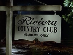 Outside Riviera Country Club