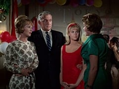 Mrs. Russell (June Whitley Taylor), Charles Russell (Richard St. John), Vanessa Russell (Robyn Millan), Miss Cooper (?)